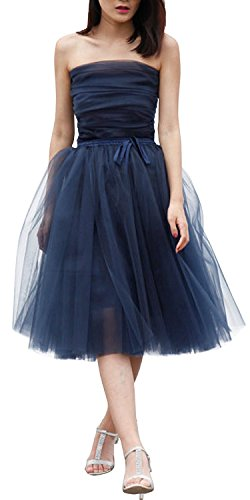 Ivan Johns Women's Short Bridesmaid Tulle Skirt Tutu Princess Dress for Wedding - Yoox Shopping