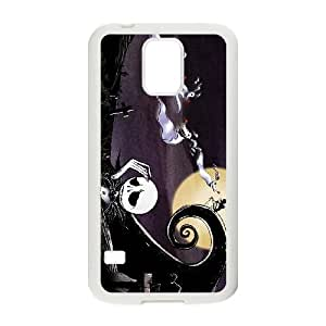 Nightmare Before Christmas Samsung Galaxy S5 Cell Phone Case White DIY Gift xxy002_0368231