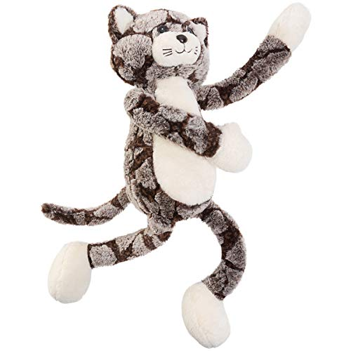 Black Tabby Cat - HollyHOME Tabby Plush Cat Soft Stuffed Animal Kitty Toys Gift Baby Doll 27 Inches Black