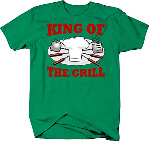 12c7a6b8 King of the grill cooking out t-shirts searched at the best price in all  stores Amazon