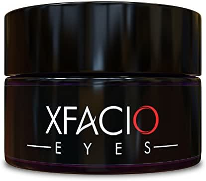 Best Under Eye Cream Gel Reduces Puffiness Bags Dark Circles Sagging Wrinkles & Fine Lines. Pure Organic All Natural Ingredients For Men Or Women. Contains Peptides Stem Cells Niacinamide + Matrixyl