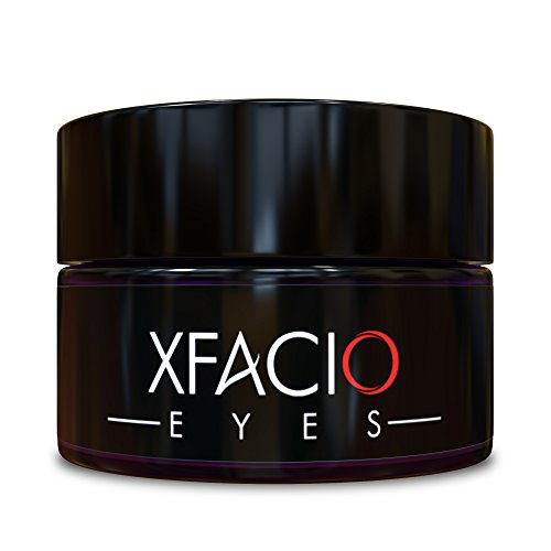 Best Under Eye Cream Gel Reduces Puffiness Bags Dark Circles Sagging Wrinkles & Fine Lines. Pure Organic All Natural Ingredients For Men Or Women. Contains Peptides Stem Cells Niacinamide + - All American Repair Glasses