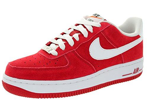 Nike Kids Air Force 1 (GS) Gym Red/White Basketball Shoe 4 Kids US