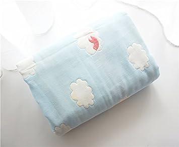 Mangeoo Gasa suave para bebés, Toalla de baño, cubierta de algodón ...