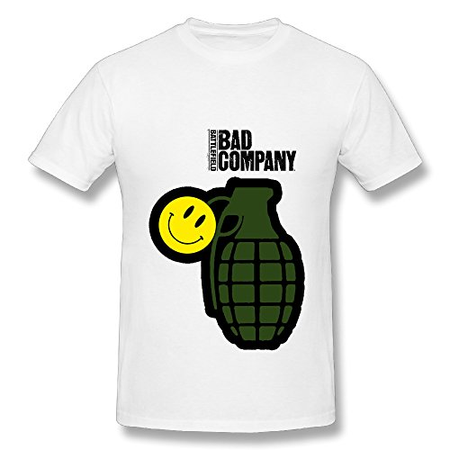 Bad Company Fan 2016 Tour Men Tee Shirt White