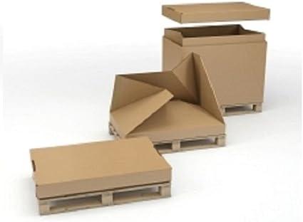 1/1 Full paletizados paletas Caja Contenedor para almacenamiento ...