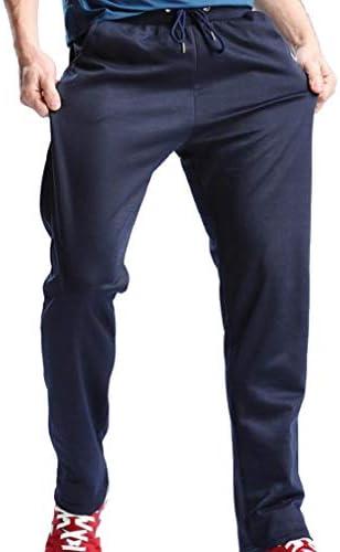 VITryst メンズファッションカジュアルパンツポケットドローストリングジョギングボトムパンツ実行
