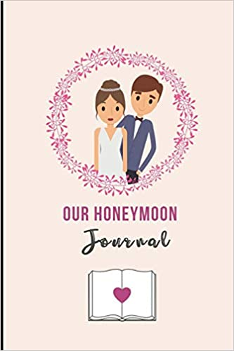 Our Honeymoon Journal A5 Notebook Lined Unique Wedding Gift For