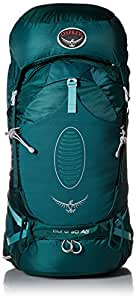 Osprey Women's Aura AG 50 Backpack, Rainforest Green, X-Small