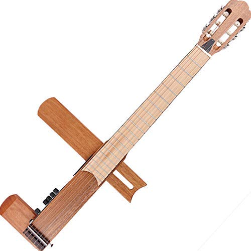 (Cross Guitar 2.0: Folding/Foldable Classical Nylon-String Acoustic/Electric Travel Guitar Silent Guitar with Gig Bag)