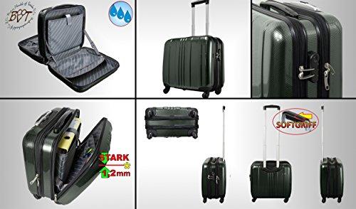 Große XXL wetterfester Koffer Pilotenkoffer Flugkoffer/ Flugreise Zubehör Piloten-Trolley /-tasche schwarz,Piloten-Trolley /-koffer standfest, Business- & Reisekoffer, geräumige Tasche mit Rollen