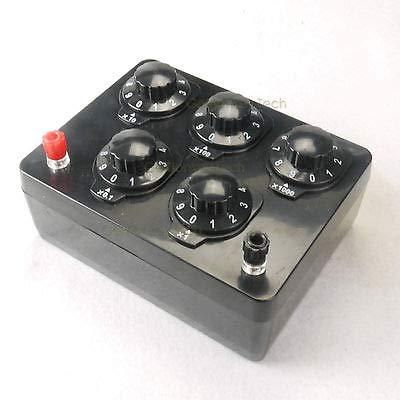 FidgetFidget Precision Variable Decade Resistor Resistance B