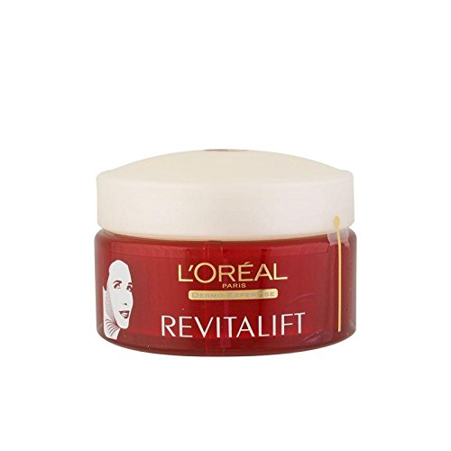 ロレアルパリダーモ専門知識顔の輪郭や首の再サポートクリーム(50ミリリットル) x4 - L'Oreal Paris Dermo Expertise Revitalift Face Contours And Neck Re-Support Cream (50ml) (Pack of 4) [並行輸入品] B072P24RNL