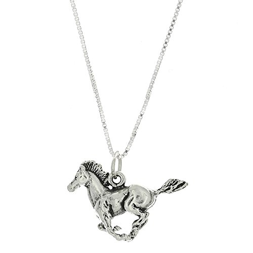 Horse Charm Necklace - 8