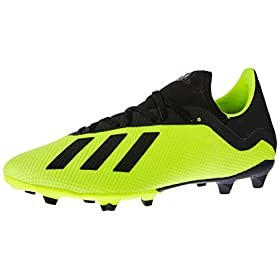 adidas Men Soccer Shoes X 18.3 Firm Ground Cleats Football Training