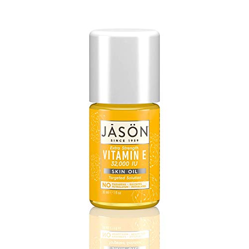 Jason Natural Vitamin E 32,000 IU Extra Strength Skin Oil, Targeted Solution, 1 fl oz
