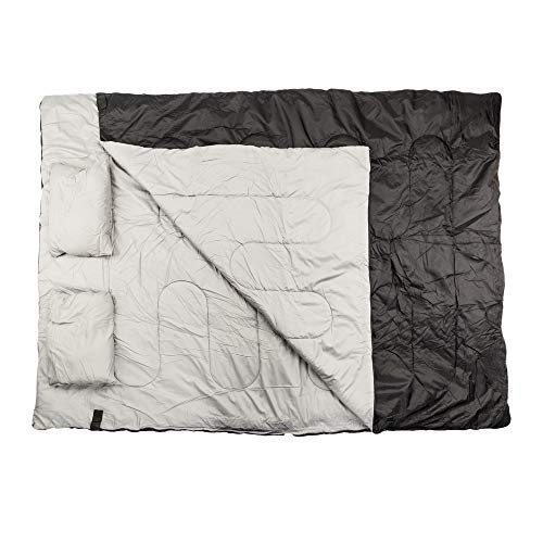 Candora Outdoor Double Sleeping Bag with Two Pillows ()