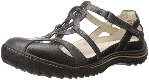 Earth Jambu Spain Women's Black Flat wF4qFrI