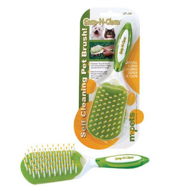 M2 Pets Long Hair Snap-N-Clean Brush (Small)