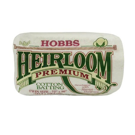 Hobbs Heirloom 80/20 Cotton Batting Twin 72