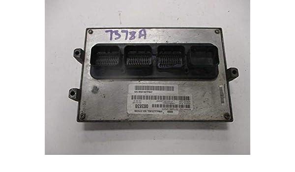 Amazon com: Jeep Wrangler JK 3 8 V6 Manual Engine Computer PCM ECU