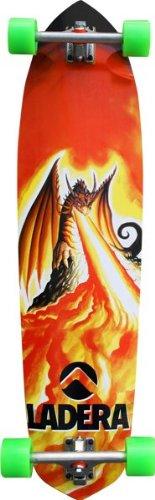 Ladera Dragon Slayer Complete Downhill Skateboard (9.75X40-Inch) (Ladera Skateboards)