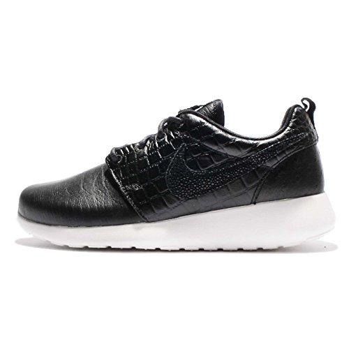 (Nike WMNS Roshe ONE LX Womens Fashion-Sneakers 881202-001_8.5 - Black/Black-Ivory)