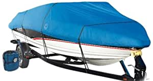 Wake Monsoon Series Model B Boat Cover (Blue, Fits 14 to 16-Feet (beam idt to 90-Inch)