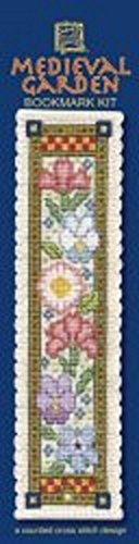 medieval garden counted cross stitch