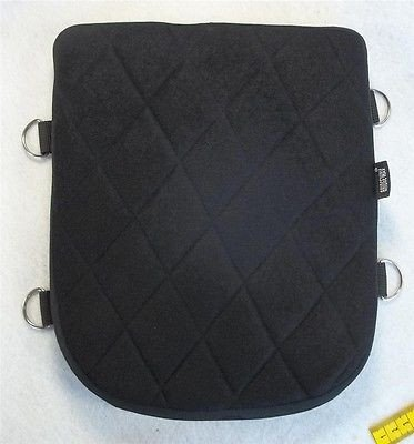 (Soft Motorcycle Pillion Rear Back Seat Gel Pad for Kawasaki Vulcan 900 Custom)