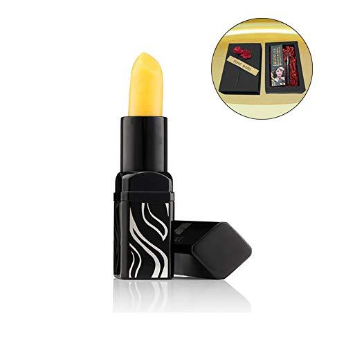 Legend Age Healthy Natural Cherry Lipstick in Gift Box, Long Lasting Magic Color Changing Lipstick, Organic Sunscreen Moisturizing Lip Balm with Cherry Essence & Vitamin E – 1 Tube