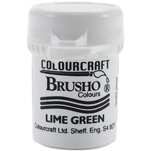 Brusho Crystal Colours 15 Gram Lime -