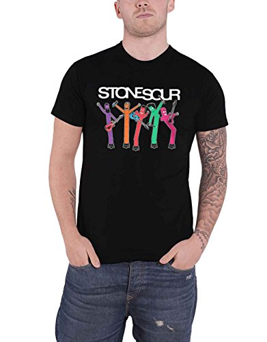 Stone Sour T Shirt Band Inflatables Band Logo Official Mens Black (Stone Sour T-shirts)