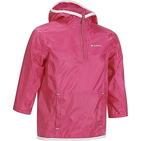 91e3a73f2 Quechua Children s Raincut Waterproof Hiking Jacket - Pink (8-10 ...