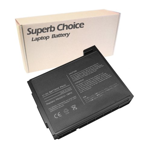 Superb Choice 12-Cell Battery for TOSHIBA Satellite P25-S5091 P25-S5092 P25-S5093 (Pa3291u 1brs Laptop)