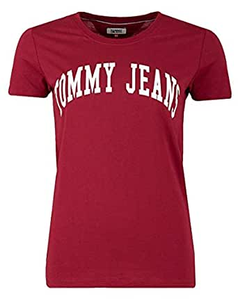 Tommy Hilfiger T-Shirts For Women, Red L