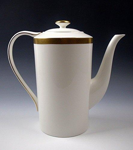 Ralph Lauren HEWITT GOLD Coffee Pot with Lid ()