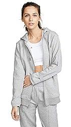 Adidas By Stella Mccartney Women S Ess Hoodie Medium Grey Heather Small