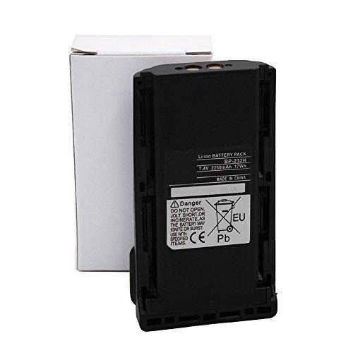 Bp232h Bp232 2250Mah High Capacity Li Ion Battery For Icom F33 F43 F14 F24 F3021 F4021 F3161 F4161 F3011 F4011