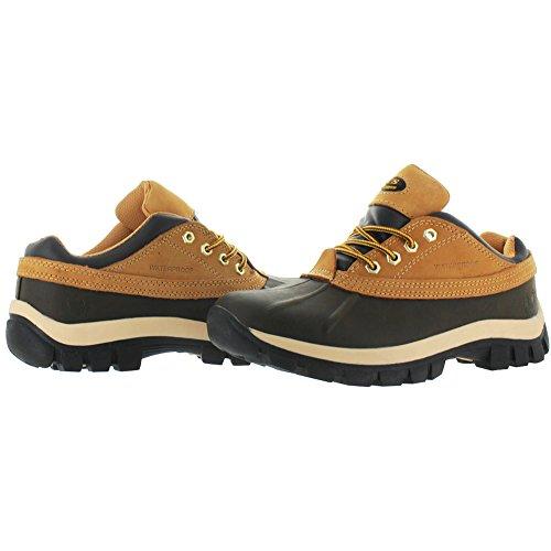 KINGSHOW M7014 - Mens Waterproof Rubber Sole Winter Boots Wheat 6av5uLgrpe