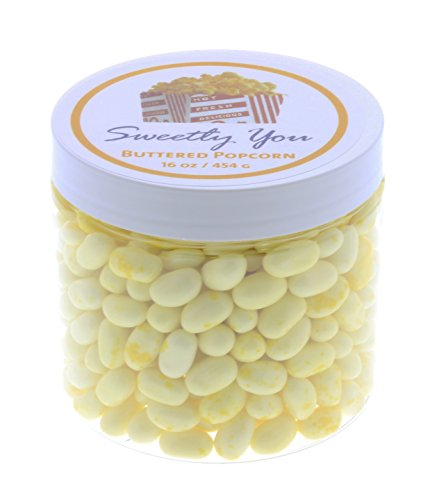 Jelly Belly 1 LB Buttered Popcorn Flavored Beans.  Bulk Jell