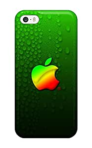 Excellent Iphone 5/5s Case Tpu Cover Back Skin Protector Green