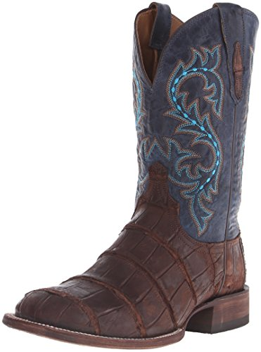 Lucchese Bootmaker Men's Malcom Western Boot, Brandy, 10.5 D US (Alligator Lucchese Boots)