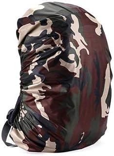 HATCHMATIC Ultra-TRI Rain Cover pour Sac à Dos 30L 35L 40L 50L 65L étanche à la poussière preion Camping en Plein air Randonnée Sac Raincover: Camouflage, 50-70L
