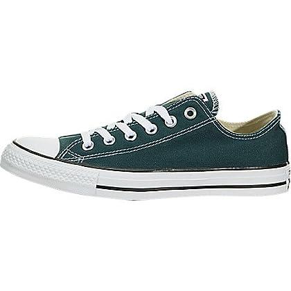 bc1c0b5deaca Converse Chuck Taylor All Star Seasonal Colors Low Top Shoe Dark Atomic  Teal Men s Size 10 Women s Size 12