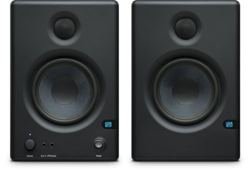 PreSonus Eris E.45 HD 2-Way 4.5'' Nearfield Monitors, 70Hz-20kHz Frequency Response, 10kOhm Input Impedance, 2x Balanced 1/4'' TRS, 2x Unbalanced RCA, Pair by PreSonus