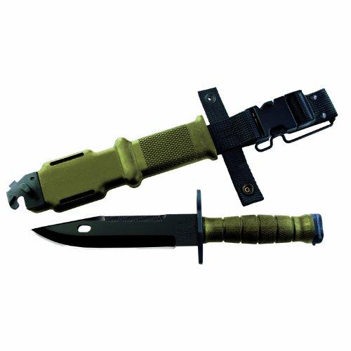 Ontario 490 M9 Bayonet System (Green), Outdoor Stuffs