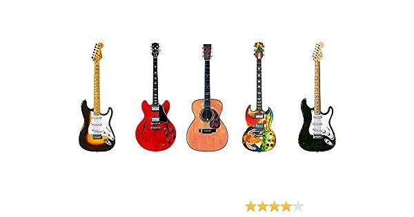 Tarjeta de felicitación, Eric Clapton 5 guitarras famosas, tamaño ...
