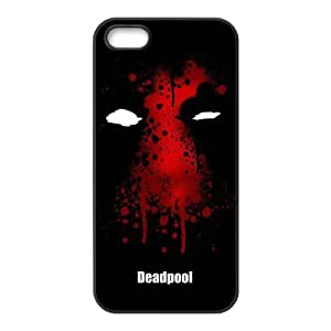 iPhone 5S Protective Case - Deadpool Hardshell Carrying Case Cover for iPhone 5 / 5S