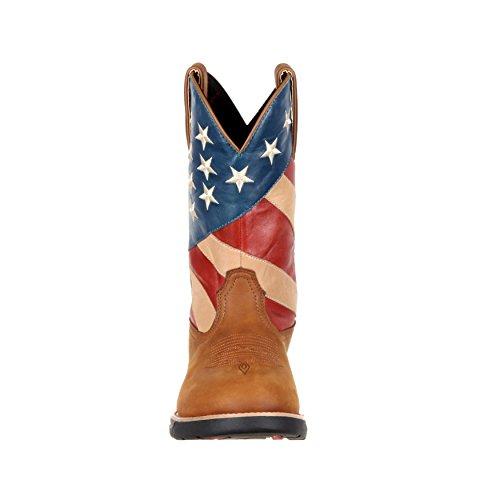 Rotsachtige Mens 10 Lichtgewicht Westelijke Patriottische Vlaggenlaars --- Rkw0213